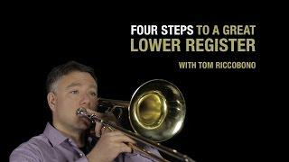 Trombone Lesson - Lower Register