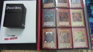 Massive $100.00 Yugioh Card Collection Box Opening! Binders, Mats, Deck Box Plus More!!