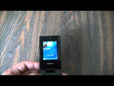 How To Data Wipe A Kyocera Neo E1100 Cell Phone