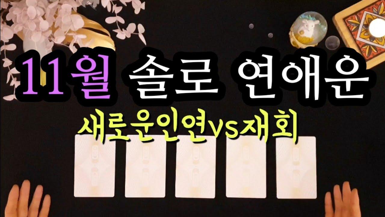 [타로/연애운] 11월 솔로 연애운💜(ft.주간별 연애운)