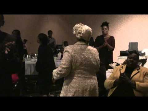 Mother Lays Hands During the 2015 Appreciation Dinner
