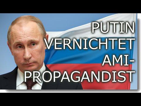 Putin blamiert Ami-Propagandisten vor laufender Kamera