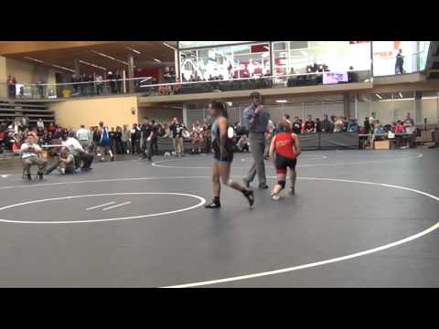 2014 SFU International 53 kg Kate Richey vs Miranda Borrego