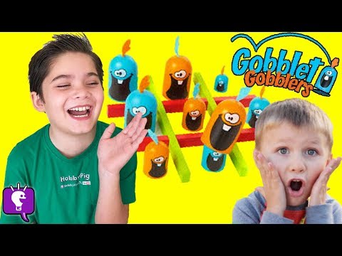 Gobblet Gobblers GAME! With HobbyKids