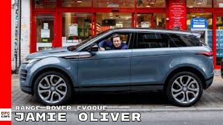 Jamie Oliver Test Drives The New Range Rover Evoque