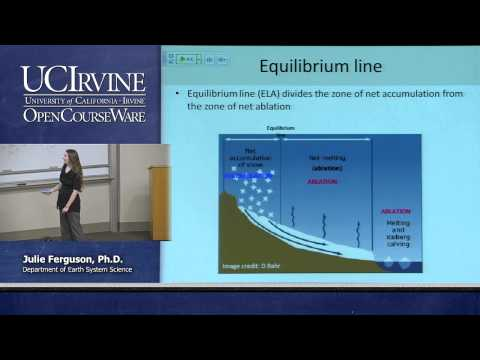 Earth System Science 21. On Thin Ice. Lecture 15. Glacier Mass Balance