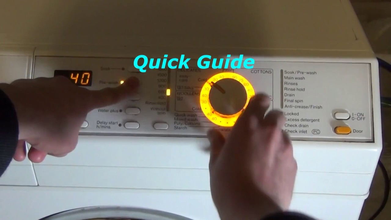 How To Activate And Deactivate The System Machine Lock On A Miele