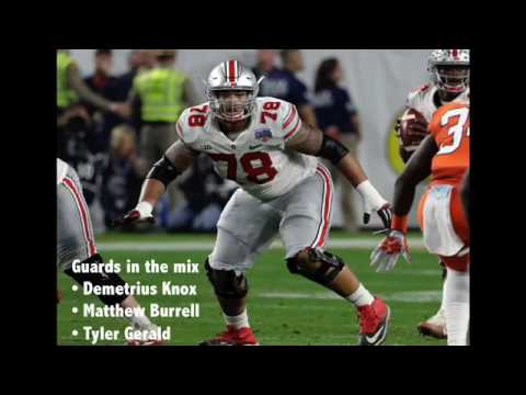 Ohio State football 2017 depth chart projection - Offensive Line