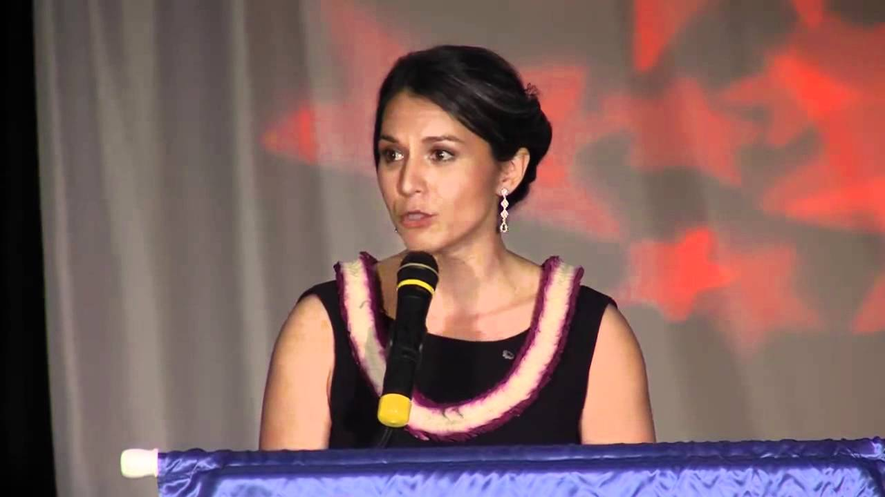 Tulsi Gabbard Jaycees Speech - YouTube