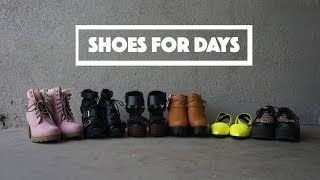 Try on Shoe Haul - Vinted & AMIclubwear.com // ItsJMomo
