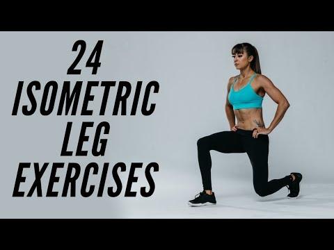 24 isometric leg exercises
