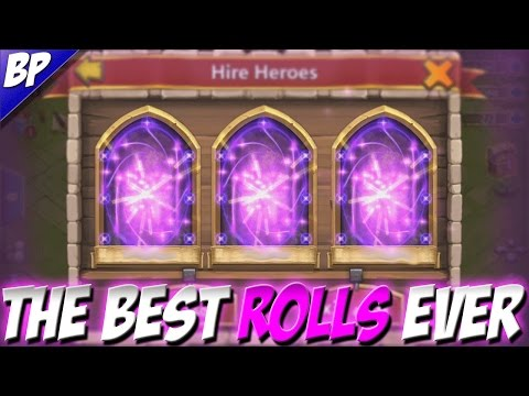 Castle Clash Best/Top Rolls Ever!