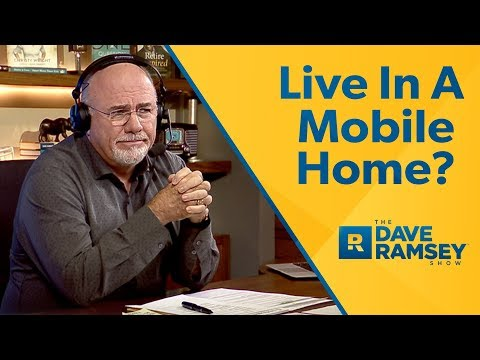 Live In A Mobile Home To Save For A House?