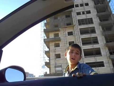 Street beggers in beirut, Lebanon