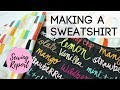 How a Sweatshirt is Made | DIY FASHION | SEWING REPORT