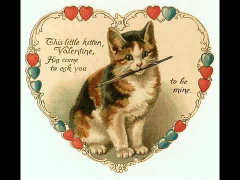 Late Victorian Valentines YouTube – Victorian Valentines Cards