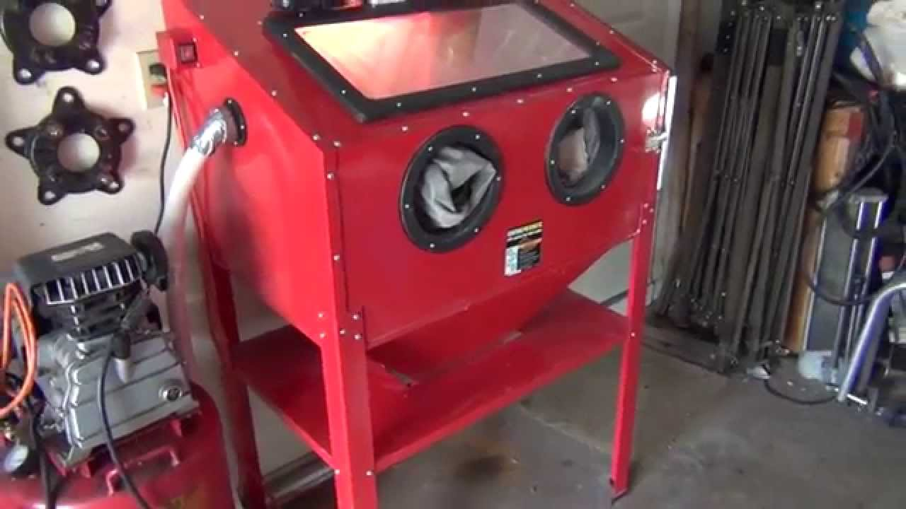 Lovely Harbor Freight Blast Cabinet Modifications