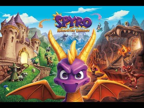 Spyro Reignited Trilogy - Spyro III Gameplay (PS4/Xbox One/PC)