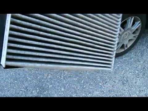 Cambio del filtro de cabina interfil para seat cordoba for Sostituzione filtro aria cabina jeep wrangler 2015