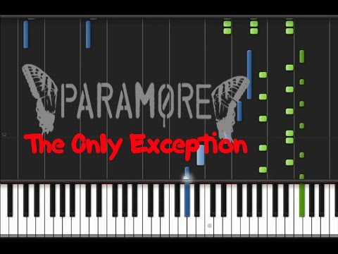 Paramore - The Only Exception [Piano Tutorial] (♫)