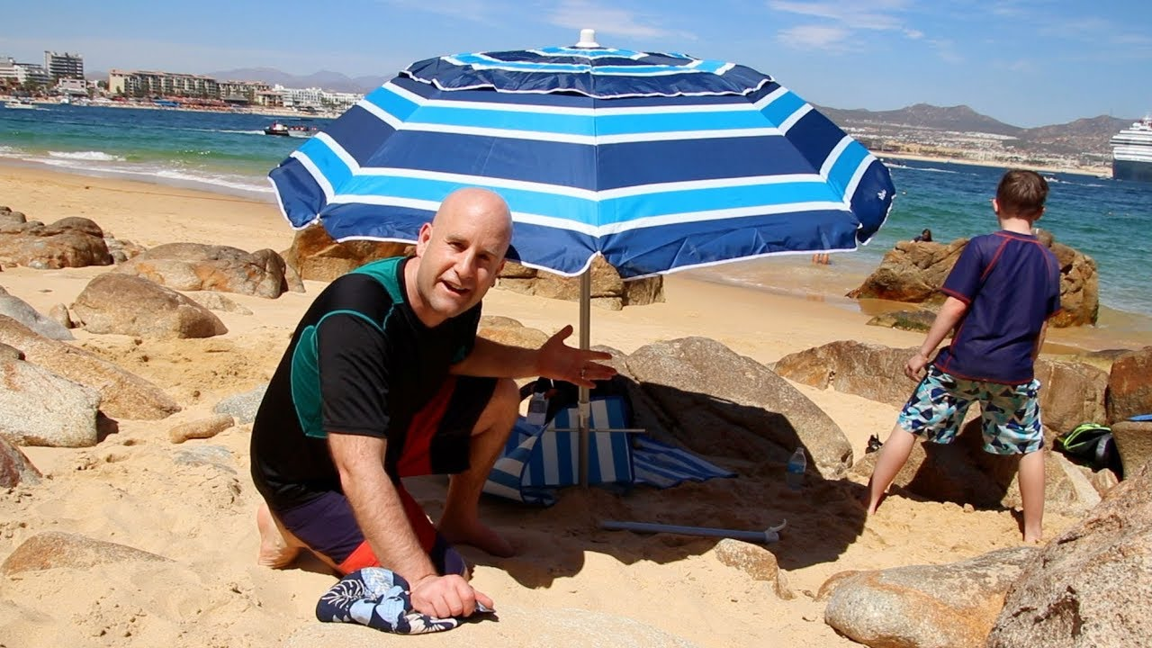 Travel Beach Umbrella That Fits In Your Suitcase