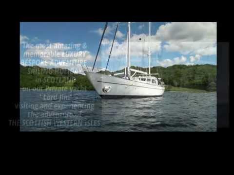 Majestic Luxury Sailing Holidays in the Scottish Western Isles - +44 (0)1844 214646