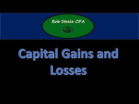 Part 7 Capital Gains And Losses Tax