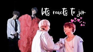 bts reacts to jin | 방탄소년단 석진 p2