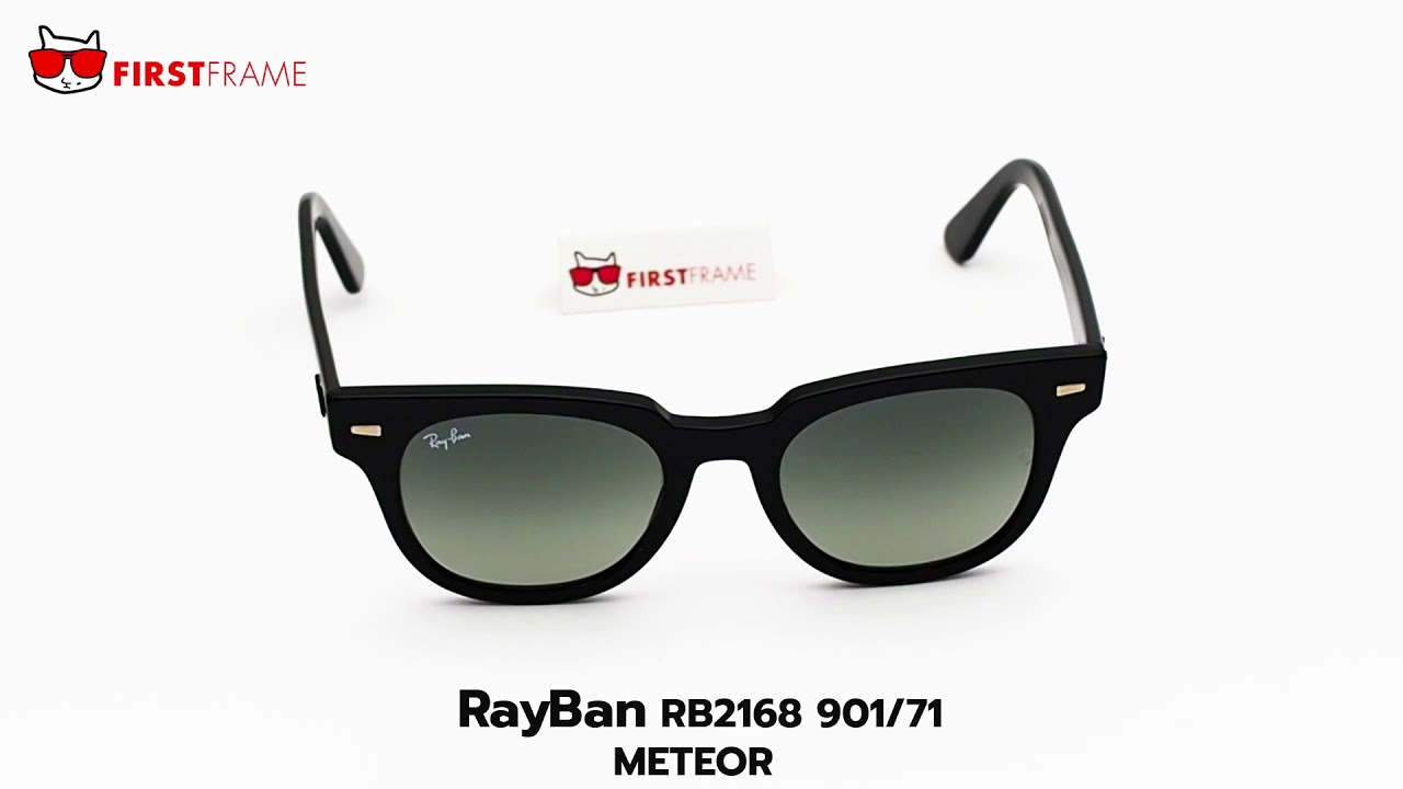 174bc024f0a RayBan RB2168 901 71 METEOR - YouTube