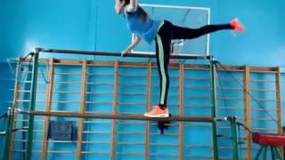 Урок гимнастики, пед-коледж.