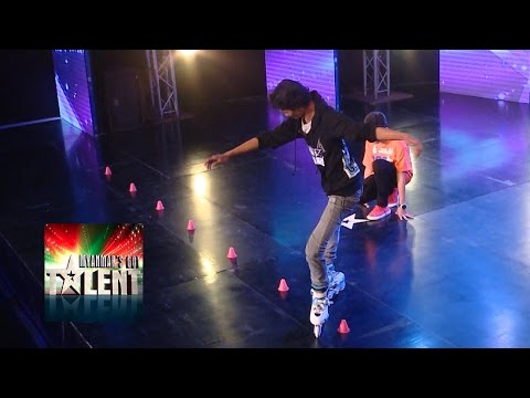 Deaf Roller Skater Got Talent Audition | Myanmar's Got Talent 2015 Season 2 Episode 5