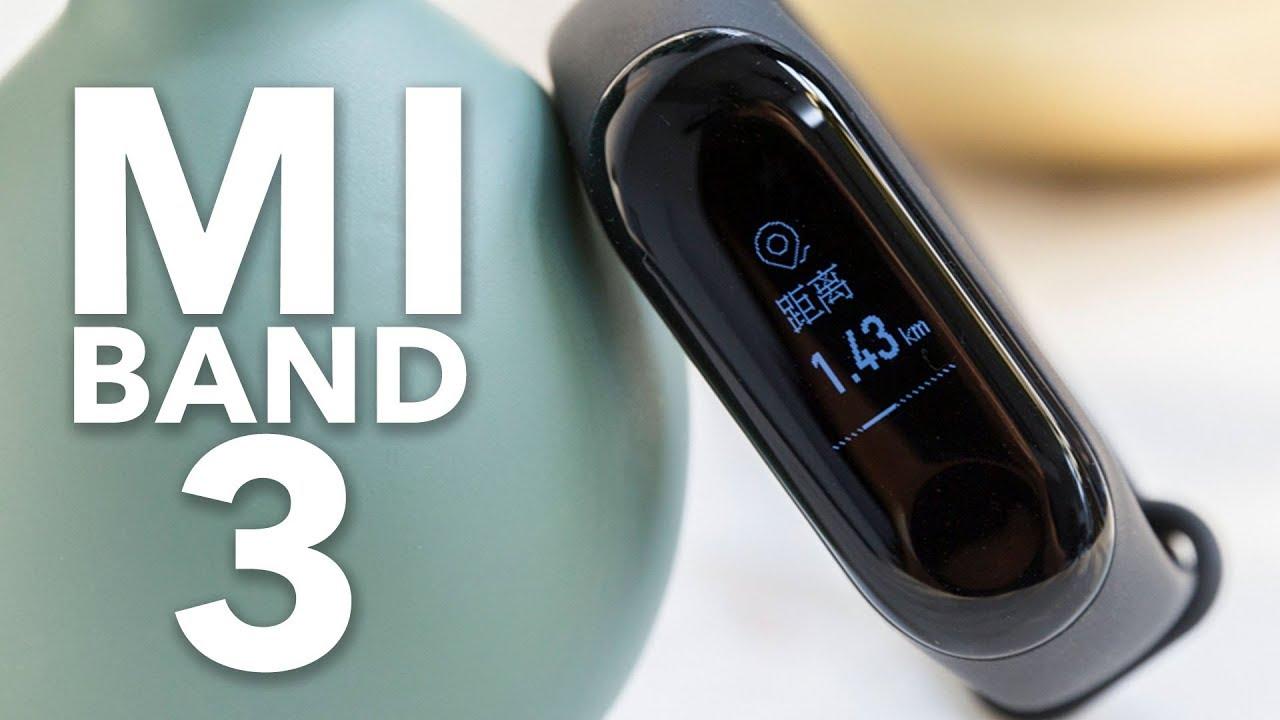 Xiaomi Mi Band 3 Im Test Deutsch Youtube