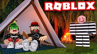 WHO IS MYSTERY MURDERER in ROBLOX CAMPING 2