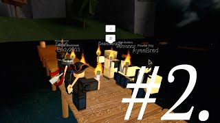 [ROBLOX] Tradelands - Outcast Life Pt. 2 - ROWBOAT OLYMPICS [OBW] RACE!