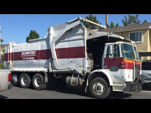 Garbage Trucks in Mecca CA