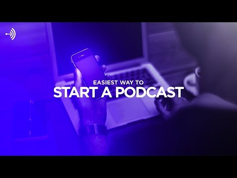 How to Start a Podcast for FREE on Your PHONE with Anchor.fm! (2017)