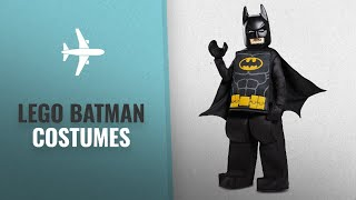 Lego Batman Costumes We Love!: Disguise Batman LEGO Movie Prestige Costume, Black, Small (4-6)