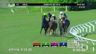 Vidéo de la course PMU PREMIO PICK OUT 2012 - 3O TURNO