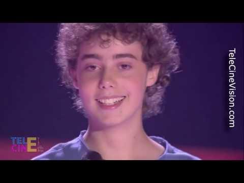 La Voz Kids 3 - Edgar Protagoniza Un Espectacular Dúo Con David Bisbal #TeleCineVision