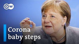 Coronavirus: Merkel lays out plan to loosen Germany's partial lockdown | DW News