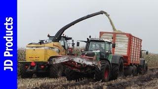 Mais/2015/Extreme/Modder/Mud/New Holland FR9060/Harvesting maize/Horenberg Paus