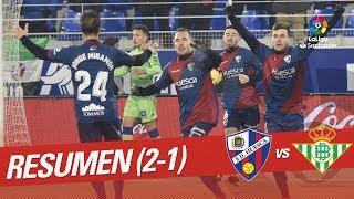 Resumen de SD Huesca vs Real Betis (2-1)
