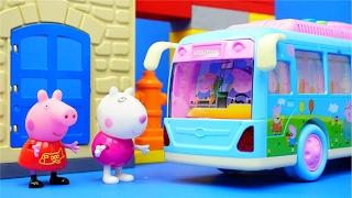 小豬佩奇 長途大巴士 玩具 粉紅豬小妹