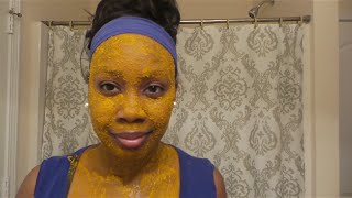 (diy Face Mask) Get Clear, Bright & Acne Free Skin