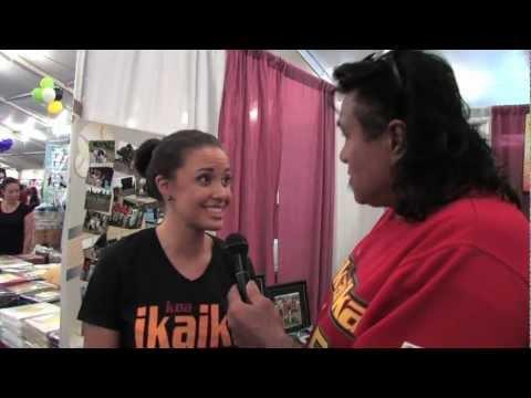 Skyler Kamaka Miss Hawaii Interview - 2012 Maui County Fair - Na Koa Ikaika in the Community