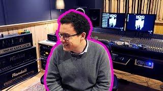 así es grabar una canción en un estudio de música profesional