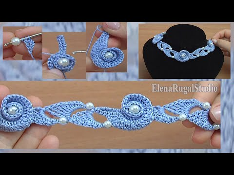 How to Make a Crochet Spiral Cord  Tutorial 128