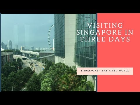 Travel video-Visiting eco friendly green City-Review The First World (Du lịch Singapore tự túc)