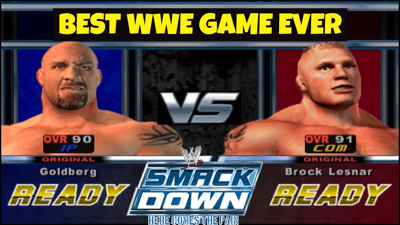 WWE SMACKDOWN HERE COMES THE PAIN Gameplay 2020 | Best WWE Game EVER ||