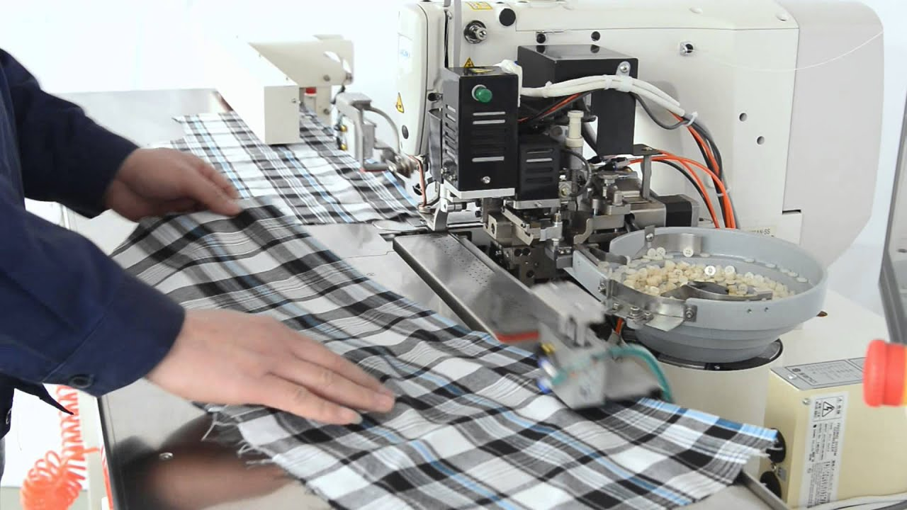 garments sewing machine